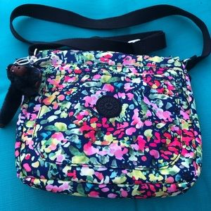 Kipling Sebastian Sweet Bouquet Crossbody Bag
